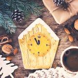 Pain d'épice de biscuits de Noël Photo stock
