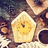 Pain d'épice de biscuits de Noël Images stock