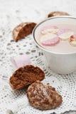 Pain d'épice de chocolat Images stock
