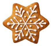 Pain d'épice de Noël Photographie stock