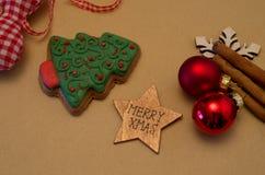 Pain d'épice de Noël Photo libre de droits
