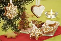 pain d'épice de Noël Photo stock