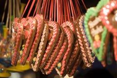 Pain d'épice de Noël Image stock
