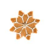 Pain d'épice fait maison décoré Photographie stock libre de droits