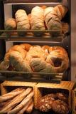 Pain dans la boulangerie photo libre de droits