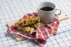 Pain de bâton de puce de chocolat Images stock