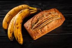 Pain de banane fait maison Photo stock