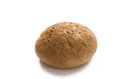 Pain de blé avec des graines de son et de citrouille Images libres de droits