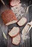 Pain de blé entier Photographie stock