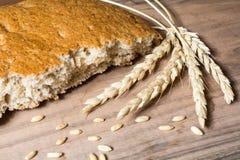 Pain de blé et blé Images libres de droits