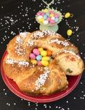 Pain de bonbon à Pâques photo stock