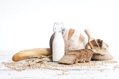 Pain de boulangerie image libre de droits