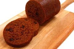 Pain de Brown sur la palette de pain Images libres de droits