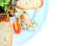 Pain de fromage Image stock