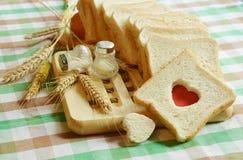 Pain de l'amour avec du blé Photos libres de droits