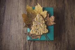 Pain de Noël sur une table Image stock