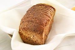 Pain de pain brun Photographie stock libre de droits
