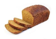 Pain de pain de seigle avec des tranches Image libre de droits