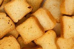 Pain de pain grillé de vue supérieure image libre de droits