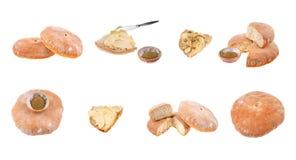 Pain de pain rond Photographie stock libre de droits