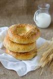 Pain de pains pitas Photos stock