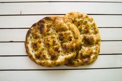Pain de Pide, pain de pide de dinde, ramazan et pide, pide de pain de Turc, culture turque et pain de pide, pain de pide sur le f Image libre de droits