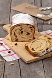 Pain de raisin sec de cannelle Photo libre de droits