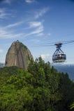 Pain de sucre, Rio de Janeiro Images stock