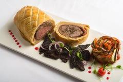 Pain de viande en pâtisserie Images stock