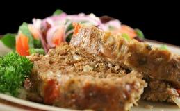 Pain de viande et salade Images stock