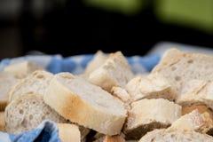 Pain des pains, pain, sain, nourriture, panier bleu image stock