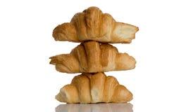 Pain des pains sur l'un l'autre Image stock