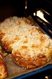 Pain doux cuit au four fait par maison Photos stock