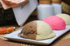 Pain doux mexicain traditionnel utilisé pour le petit déjeuner ou le dîner photographie stock