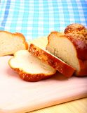 Pain du sabbat cuit au four doux de pain Photographie stock libre de droits
