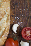 Pain espagnol de tomate Image libre de droits