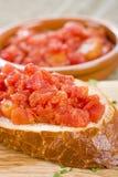 Pain espagnol de tomate Image stock