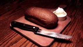 Pain et beurre Images libres de droits