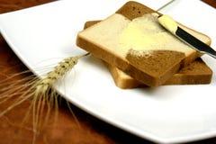 Pain et beurre Image libre de droits