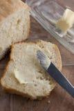 Pain et beurre Photo libre de droits