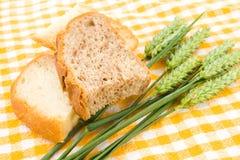 Pain et blé Photographie stock