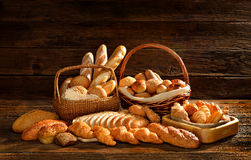 Pain et boulangerie Image stock