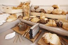 Pain et boulangeries Photo stock