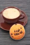 Pain et cuvette de café Image libre de droits