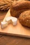 Pain et fromage Images libres de droits