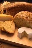 Pain et fromage Photos libres de droits