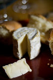 Pain et fromage Photos stock