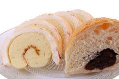 Pain et gâteau Images stock