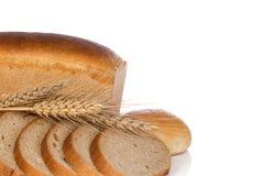 Pain et pain avec la transitoire photographie stock libre de droits