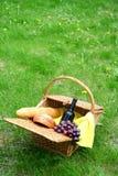 Pain et raisins de vin Images libres de droits
